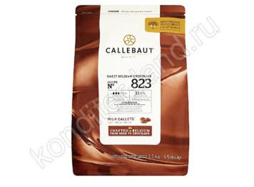 Шоколад молочный 33,7% Barry Callebaut, 2,5 кг