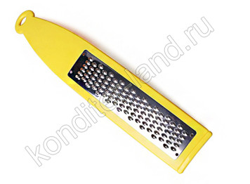 Металлическая терка для цедры с мелкими зубчиками