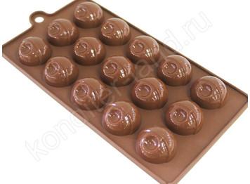 """Силиконовая форма для шоколада """"Сферы"""""""