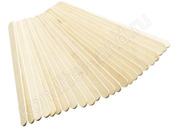 Деревянные палочки для мороженного 30 см, 20 шт