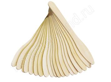 Деревянные палочки для мороженного 13 см, 20 шт