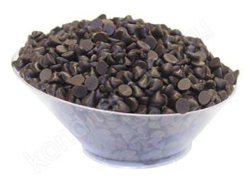 Шоколадные термостабильные капли темные, 200 гр