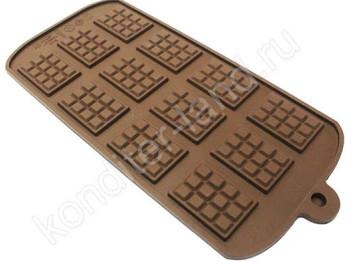 """Силиконовая форма для шоколада """"Шоколадные плитки минни"""""""