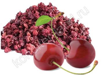 Сублимированная вишня, кусочки 1-5 мм, 15 гр
