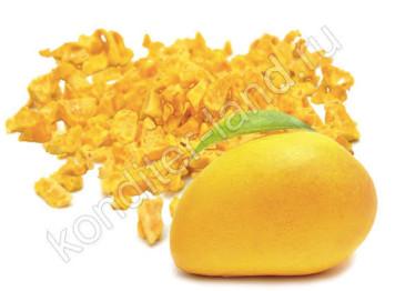 Сублимированное манго, кусочки 1-5 мм, 15 гр