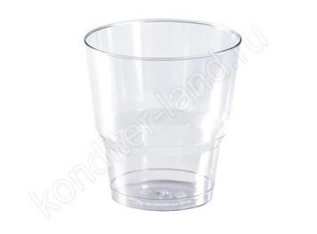 Пластиковый стаканчик (креманка для десерта), объем 200 мл, 12 шт