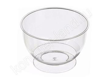 """Пластиковый стаканчик """"Чаша"""" (креманка для десерта), объем 200 мл, 12 шт"""
