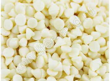 Шоколадные термостабильные капли белые, 200 гр