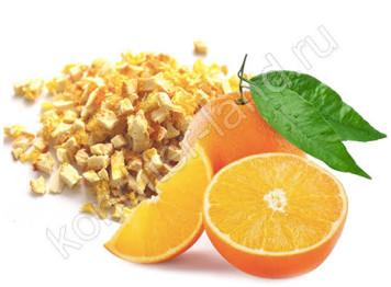 Сублимированный апельсин, кусочки 1-5 мм, 15 гр