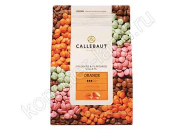 Шоколад со вкусом апельсина Barry Callebaut, 2,5 кг