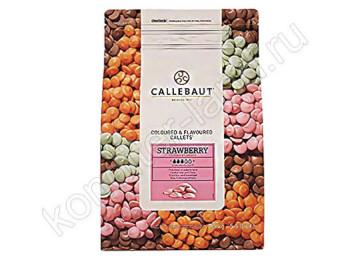 Шоколад со вкусом клубники Barry Callebaut, 2,5 кг