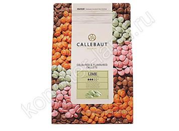 Шоколад со вкусом лайма Barry Callebaut, 2,5 кг