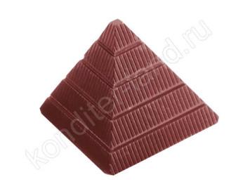 """Поликарбонатная форма для шоколада """"Пирамида"""""""