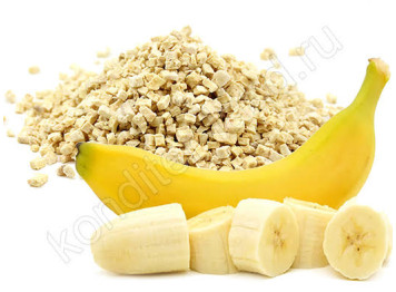 Сублимированный банан, кусочки 1-5 мм, 15 гр