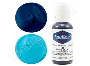 Краситель гелевый Americolor №134 NAVY BLUE , 21 г