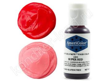 Краситель гелевый Americolor №120 SUPER RED, 21 г