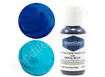 Краситель гелевый Americolor №102 ROYAL BLUE, 21 г