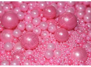 """Посыпки сахарные """"Жемчужины розовые"""", 50 г"""