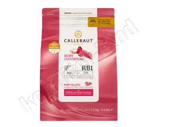 "Шоколад рубиновый ""Руби"" Barry Callebaut, 2,5 кг"