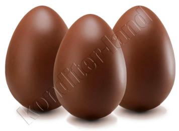 """Поликарбонатная форма для шоколада """"Яйцо"""" 6 ячеек"""