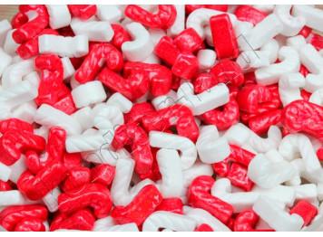 """Сахарное украшение """"Трости красно-белые"""", 50 г"""