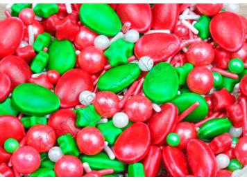 """Посыпки сахарные """"Рождественский переполох"""", 50 г"""