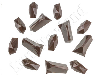 "Пластиковая форма для шоколада ""Кристаллы"""