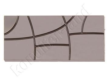 """Пластиковая форма для шоколада """"Плитка линии"""""""
