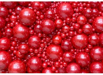 """Посыпки сахарные """"Красные жемчужины"""", 50 г"""
