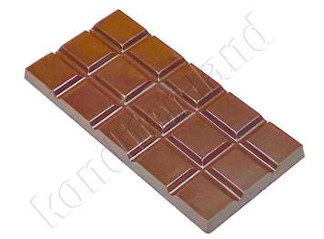 """Пластиковая форма для шоколада """"Плитка стандарт"""""""