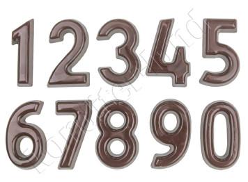 """Пластиковая форма для шоколада """"Цифры"""""""