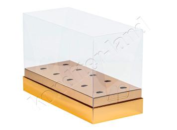 """Упаковка для кейк-попсов """"Золото"""" 240х110х160 мм"""