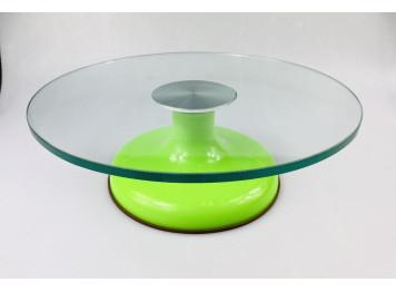 Столик поворотный стеклянный (тортовница), 30 см