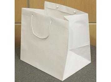 Пакет белый- квадрат 36х36х36 см