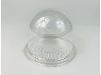 Подложка с купольной крышкой, прозрачная, 10 шт