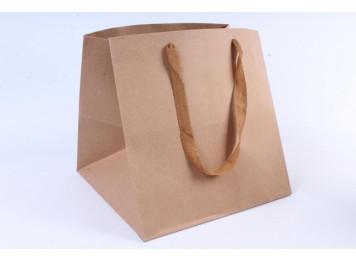 Пакет крафт 30х30х30 см