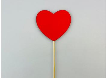 "Топпер ""Сердце красное"""