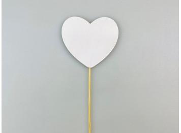 """Топпер """"Сердце белое"""""""