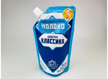 """Сгущенное молоко """"Любимая классика"""" ГОСТ 8,5%,270 гр"""