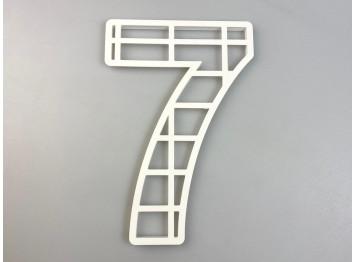 """Пластиковая форма для торта """"Цифра №7"""", 25см"""