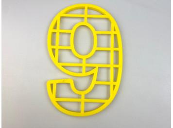 """Пластиковая форма для торта """"Цифра №9"""", 25см"""