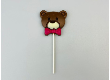 "Шоколад молочный на палочке ""Мишка"" 26гр"