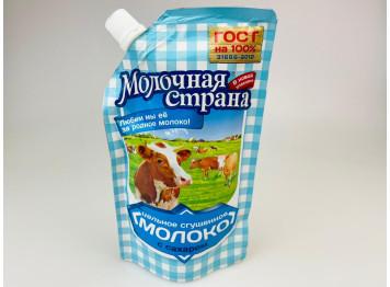 Сгущенное молоко Молочная Страна 8,5% 270 гр, дой-пак