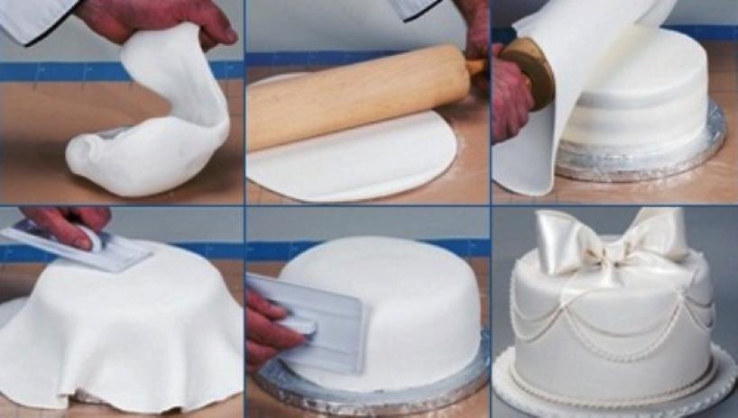 Марципан рецепт в домашних условиях для тортов  895